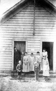 Fort Ross Elementary School c.1890